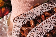 "1 1/8"" Peach Lace Trim #lace-135"