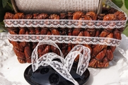 "1/2"" Natural Lace Trim #lace-104"