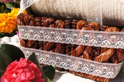 "1"" Natural Lace Trim #lace-109"