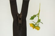 "15"" Black Separating Zipper"