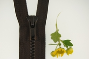 "18"" Black Separating Zipper"