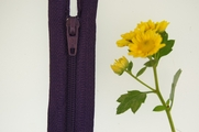 "18"" Purple Zipper"