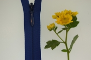 "19"" Blue Invisible Zipper"