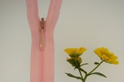 "23"" Light Pink Invisible Zipper"