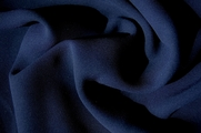 4 Ply Crepe Navy Fabric # UU-175