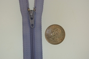 "7""�Light Perwinkle Blue Zipper"