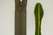 "7"" Sage Green�Zipper"