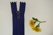 "8"" Blue Zipper"
