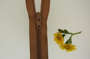 "8"" Dark Natural Beige Zipper"