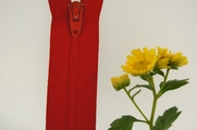 "9"" Red Zipper"