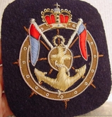 Anchor Bullion Crest Vintage Embroidered Patch