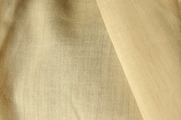 Beige Cotton Blend Sheer Fabric