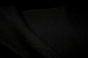 Black Double Knit Interlock Fabric # K-155