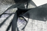 Coal Grey Soft Cotton Gauze Fabric 11 yards