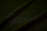 Dark Olive Green Wool Crepe Fabric 4 yards