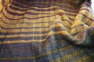 Designer Stripe Soft Novelty Fabric in Purple Olive Blue 10 yards