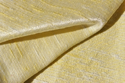 Exclusive White & Maize Texture Vintage Fabric