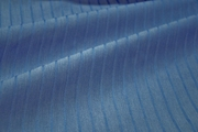 "Extra Wide Blue Fancy 3/8"" Striped Fabric # K-259"