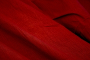 Extra Wide True Red Poly Cotton Sheeting Fabric # K-220