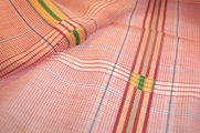 Fine 100% Cotton Vintage Plaid Fabric Pink White Blue Yellow and Green 21 yards
