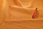 Golden Camel Brown Stretch Cotton Corduroy Fabric 10 yards