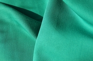 Green Poly Rayon Gabardine Fabric # UU-61
