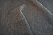 Grey Soft Worsted Wool Fabric 11 yards