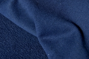 Light Navy Cotton Sweatshirt Fleece Fabric # UU-374
