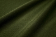 Medium Green Crepe Fabric with Tricot Interfacing Backing # K-358