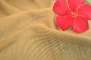 Natural Sand Soft Cotton Blend Double Knit Fabric 9 yards