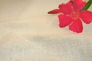 Natural White Double Faced Iron on Cotton Fabric 18 yards