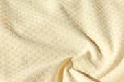Natural White Novelty Pure Cotton Knit Fabric # UU-286