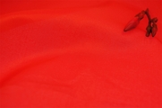 Poppy Red Polyester Lining Fabric Wholesale 16 yards