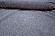 Pure Linen Fabric - Heather Denim Blue # K-299