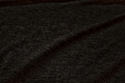 Quality Soft Pure Wool Knit Fabric - Dark Heather Grey # K-209