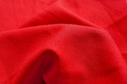 Red Crepe Fabric # UU-182