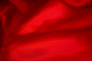 Red Stretch Satin Fabric # ABC-2835