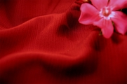 Ruby Red Crinkle Fabric 13 yards
