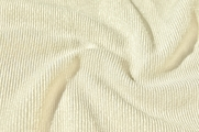 Shiny Ivory Novelty Ribbed Knit Fabric # UU-285
