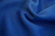 Star Blue Washable Knit Fabric Discount 5 yards