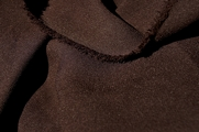 Super Quality High Twist Brown Crepe Fabric # UU-166