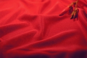 Super Quality Red Soft Fine Knit Fabric 24 yards