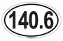 140.6 Iron-Distance Decal