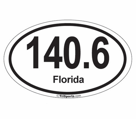 140.6 Iron-Distance   Race-Specific Decal