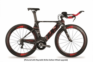 2014 Quintana Roo Illicito Black Camo | Ultegra Triathlon Bike