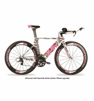 2014 Quintana Roo Women's CD0.1 Pink Camo | SRAM Rival Triathlon Bike