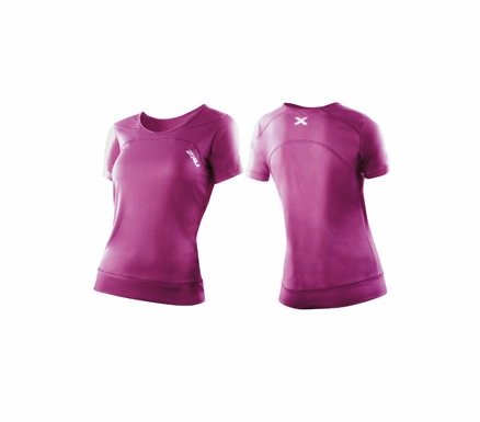 2XU Womens Ice-X SS Runing Top