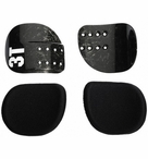3T Comfort Cradles & Pads Kit | Carbon