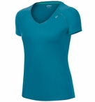 Asics  Women's Favorite Short Sleeve V-Neck Running Top