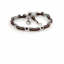 "ATHLETE INSPIRED Leather ""CYCLIST"" Bracelet"